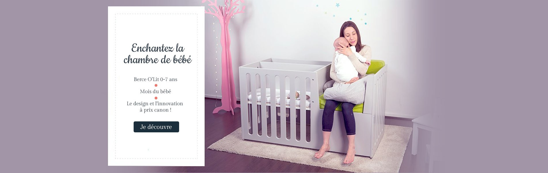 Enchantez la chambre de votre bébé