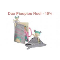Duo Noel Kiwi - Livre d'activités et Doudou