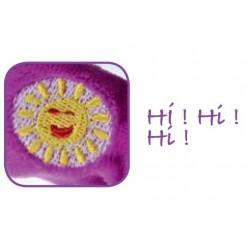 Lapin Interactif - violet