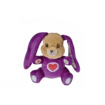 peluche-animee-lapin-violet