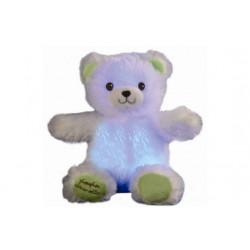 Mini Gaston Ourson Lumineux- blanc