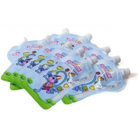 Fill n Squeeze - 10 gourdes réutilisables
