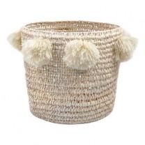 Basket raffia with tassel
