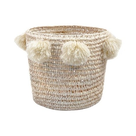 Basket raffia with tassel