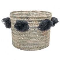 Basket raffia with tassels