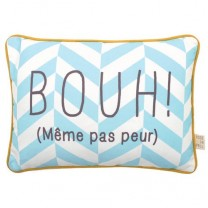 "Coussin message ""BOUH"""