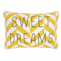 "Printed cushion ""sweet dreams"""