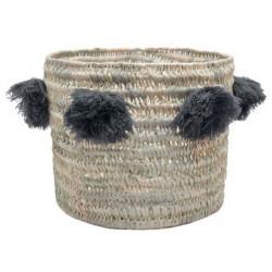 Panier naissance - Doudou Miffy - gris