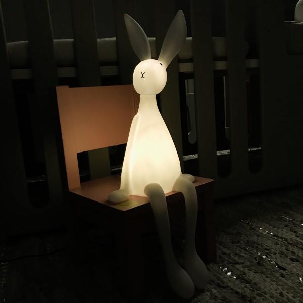 Lampe lapin joseph pioupiou merveilles for Lampe de chevet lapin
