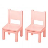 Lot de 2 - Ma première chaise - Rose