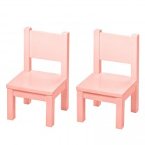 My first Chair x 2- Pink