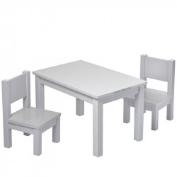 table-grise-assortiment-chaises