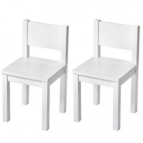 Kids Chair x2 - White