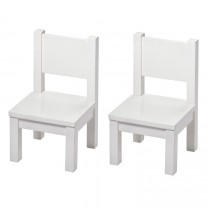 My first Chair x 2 - White