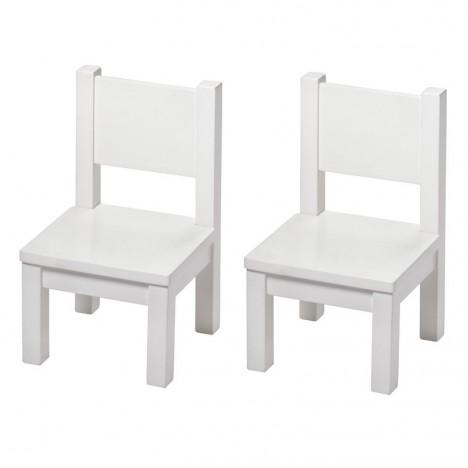 Ma Première Chaise Chaise Enfant Bois Massif Deco Blanc Montessori