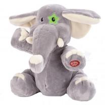 Basile l'éléphant - peluche animée