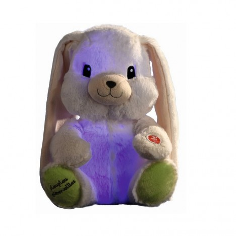 My light-up bunny - white