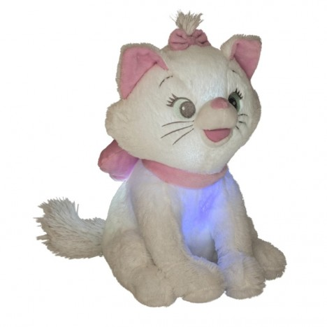 Marie Light and music soft toy Disney