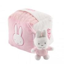 Miffy - cube d'activité rose