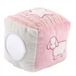 Miffy - cube de jeu rose avec peluche Miffy