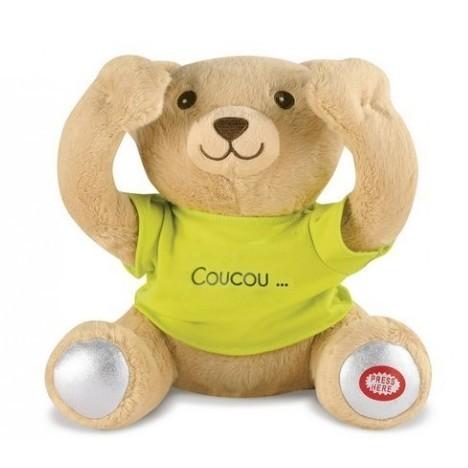 Peek-a-boo - Teddy bear