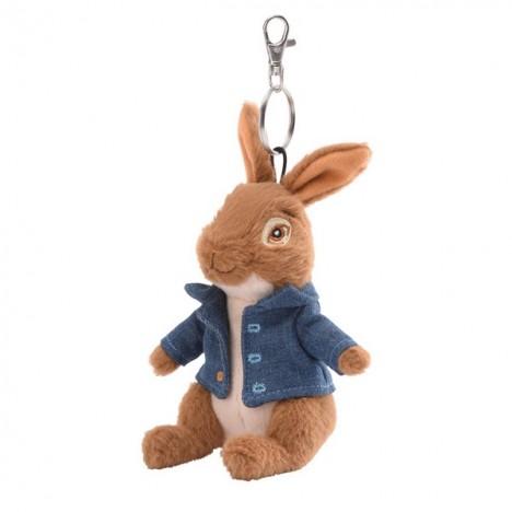 Pierre Lapin Porteclé Peluche Officiel Du Film Peter Rabbit - Porte clé peluche