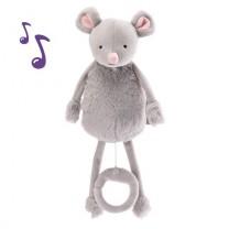 Noemie la souris - Peluches boîte à musique