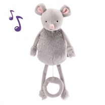 Noemie the mouse musical soft toy