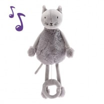 Oscar the cat musical soft toy