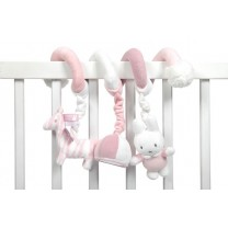 Miffy Safari toy bar - Pink