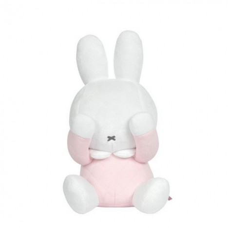 Coucou Miffy Collection Matelassée -Rose - 25cm