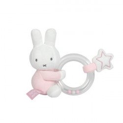 Rattle - Miffy - pink