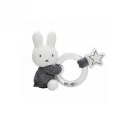 Rattle - Miffy - Grey