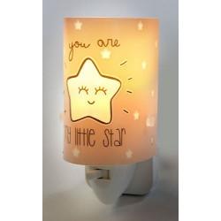 Nightlight LED My Little Star Grey