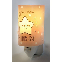 Veilleuse phosphorescente My Little Star Pink