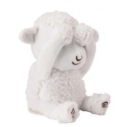 Peek a boo soft toy Simeon the Sheep
