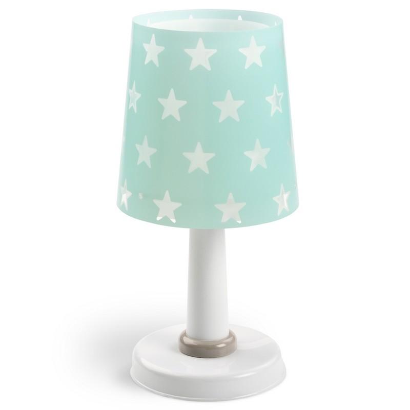 Lampe de table enfant phosphorescente Stars, brille quand on