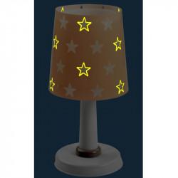 Phosphorescente nightlight Stars Grey