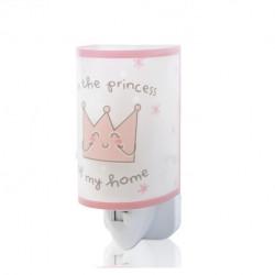 Nightlight LED Princess Pink