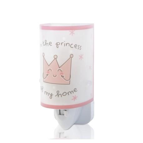 Veilleuse phosphorescente Princess rose