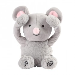 Peek a boo soft toy Noemie the Mouse