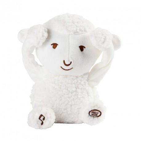 Peluche Coucou c'est moi Siméon le Mouton