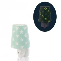Phosphorescent nightlight Stars Green