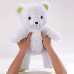 My light-up Bear - white 50 cm