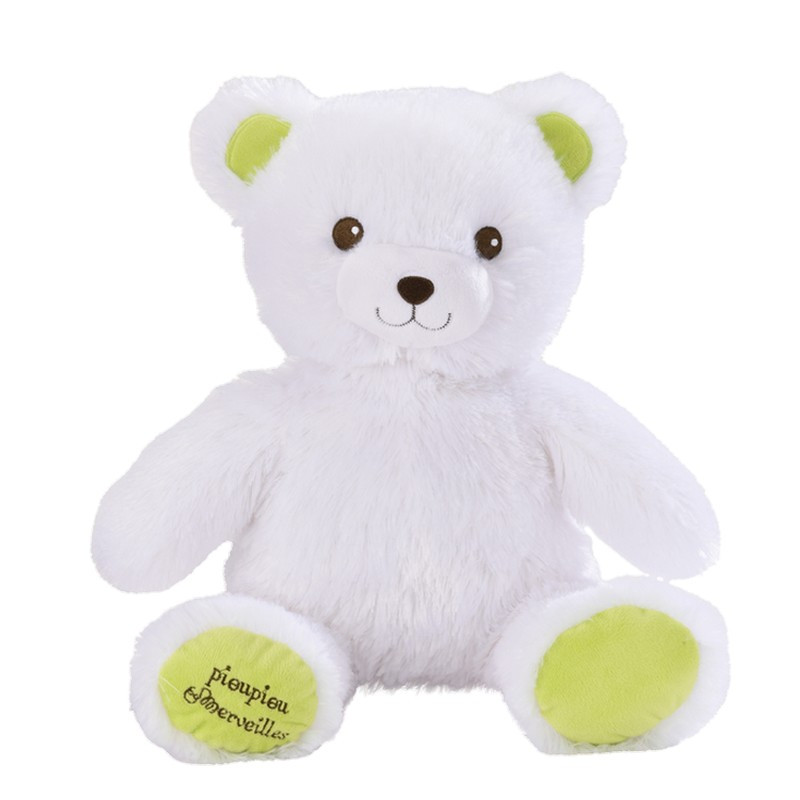 Cute Lamb Stuffed Animals, My Light Up Bear White 50 Cm Pioupiou Et Merveilles