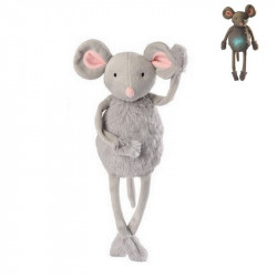 Noemie the mouse light-up and musical soft toy