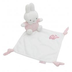 Doudou Miffy matelassé - Rose