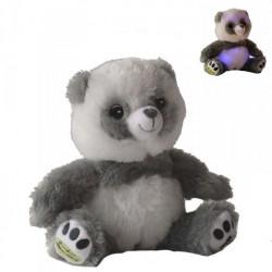 Chouka, peluche Panda Lumineux assis