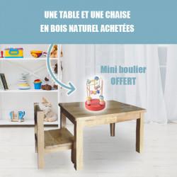 Offre Chaise + table + Mini boulier