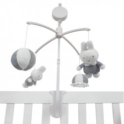 Musical mobile Miffy striped jersey